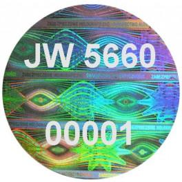 Plomba holograficzna 20x20/100/
